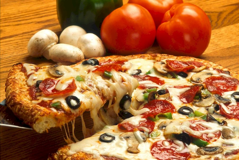 fotografie cullinara, pizza, interactiune